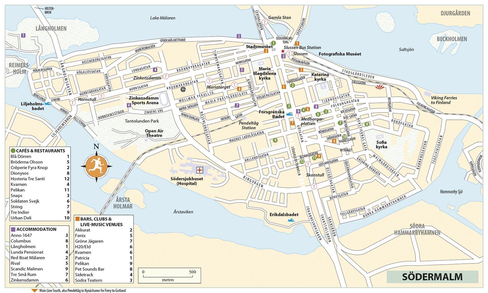 سوديرمالم خريطة خريطة سوديرمالم Sodermanland و أبلاند السويد